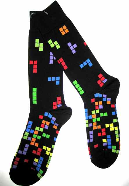 Crazy Tetris Socks